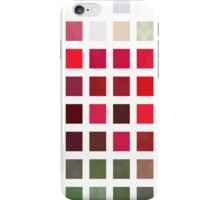 Red Rose Edges Abstract Rectangles 2 iPhone Case/Skin