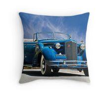 1934 Cadillac Convertible Sedan III Throw Pillow