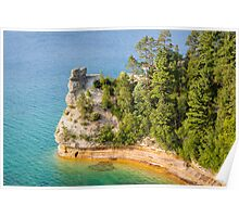 Castle Rock - Pictured Rocks National Lakeshore Poster