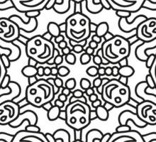 Mandala 64 Sticker