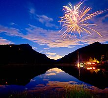 Rocky Mountains Private Fireworks Show by Bo Insogna