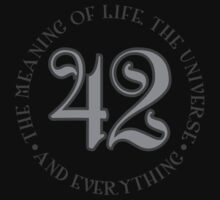 42 is the meaning of life by David Ayala