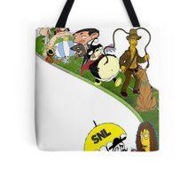 Cartoon Composition Tote Bag