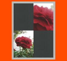 Red Rose with Light 1 Blank Q6F0 Kids Clothes