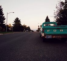 The Road at Dusk by janthony0208