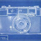 Blueprint Yashica 1961 J Series by pearloil
