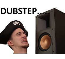 Dubstep Pirate Photographic Print