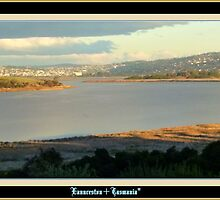 *THE TAMAR RIVER / LAUNCESTON / TASMANIA* by Ritchard Mifsud