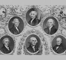 First Six U.S. Presidents by warishellstore