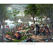 Battle of Chancellorsville -- Death Of Stonewall Jackson by warishellstore