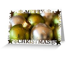 Merry Christmas Card (#CC102) Greeting Card