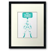 Ross The Divorce Force - F.R.I.E.N.D.S Framed Print