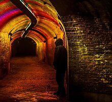 Trajectum Lumen Project. Ganzenmarkt Tunnel. Netherlands by JennyRainbow