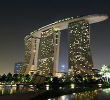 Singapore with Marina Bay Sands by joggi2002