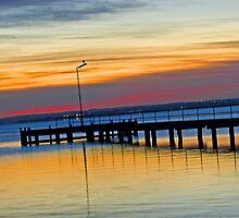 Rippleside Sunrise by TeaCee