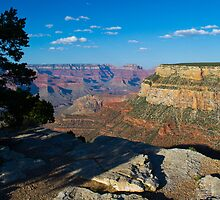 Grand Canyon At Sunset by DavidHintz