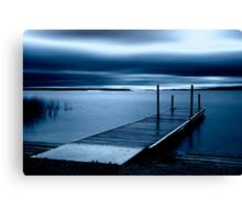 Blue Dawn - Leech Lake, MN Canvas Print