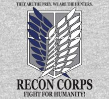 Recon Corps- Attack on Titan by cerenimo