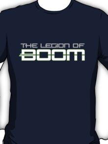 The Legion of Boom (Green Boom Outline) T-shirt T-Shirt