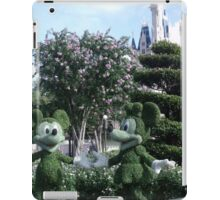 Mickey & Minnie Mouse in Disneyland iPad Case/Skin