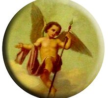 Angel with Spear by TOM HILL - Designer