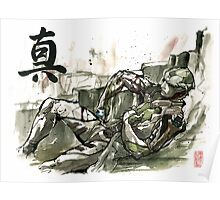 Thane from Mass Effect series Sumie Style with TRUTH Poster