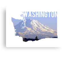 Washington - Rainier Canvas Print