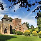 Brockhampton Church Herefordshire by Cat Perkinton