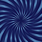 Spiral vortex blue by Medusa81