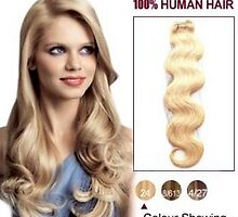 Hot Sale 14 Inch Body Wave Ash Blonde Indian Remy Hair Wefts For Sale by tiffanywuok1