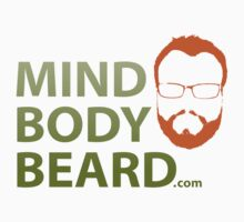 Mind Body Beard Classic Tee by MindBodyBeard