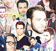 chris pine collage by cocosuspenders