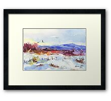 Unusual Winter in South Africa Framed Print