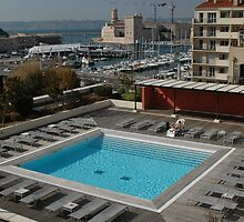 New Pool & Old Port, Marseille, France 2012 by muz2142