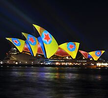 Where The Stars Are, Vivid Festival, Sydney 2013 by muz2142