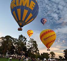 Hot Air Balloons, Canberra Centenary, Australia 2013 by muz2142