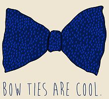 Doctor Who Bow Ties by geekchicprints