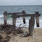 Old pier by John Witte