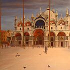 St Marco Square - Venice by Beatrice Cloake