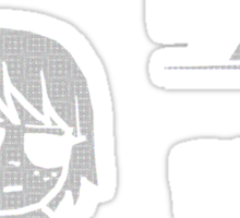 Kim Pine - Gun Sticker