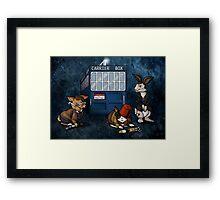 Doctor Whobuns Framed Print
