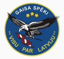 Latvian Air Force Emblem by warbirdwear