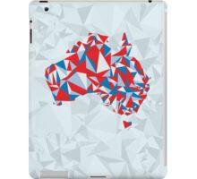 Abstract Australia Aussie Patriot iPad Case/Skin