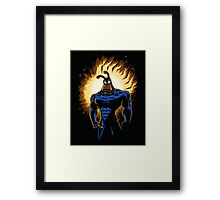 The Dark Mite Rises Framed Print