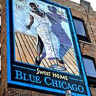 Sweet Home Blue Chicago by HeatherMScholl
