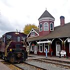 Northwest Railway Museum, Snoqualmie, WA by HeatherMScholl