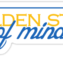 Golden State of Mind Sticker
