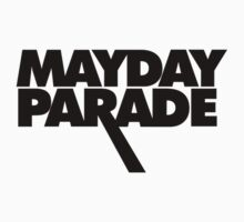 Mayday Parade Logo in Black by lukehemmings