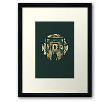 The Last of Us Cordyceps & Bloater Framed Print