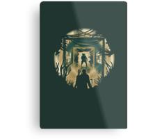 The Last of Us Cordyceps & Bloater Metal Print